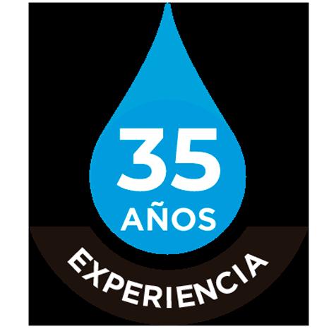 Logo 35 años experiencia Tecproim